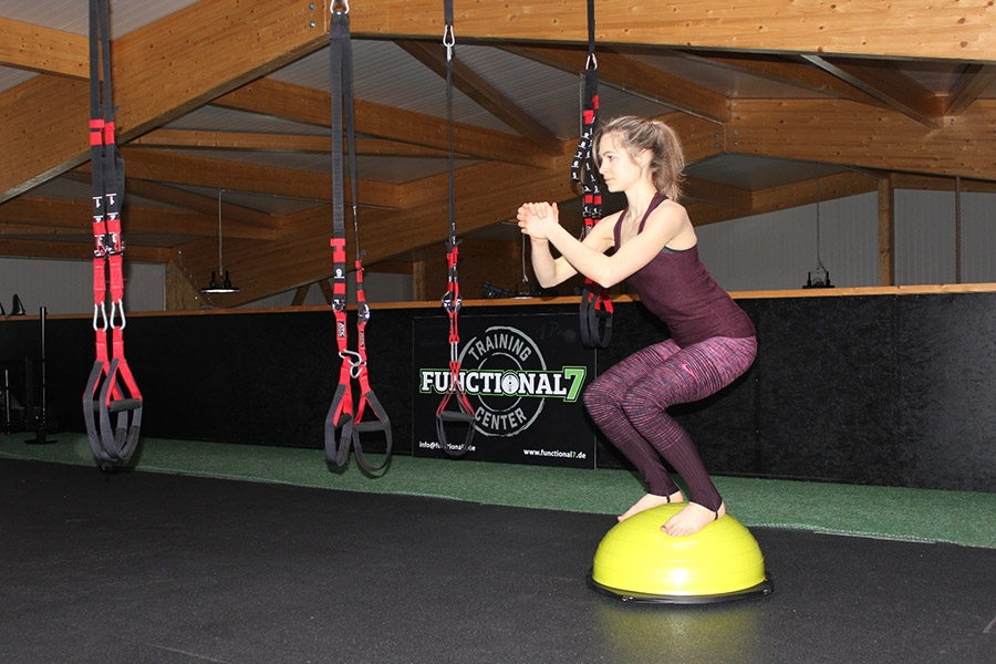 Training mit dem Balance-Ball